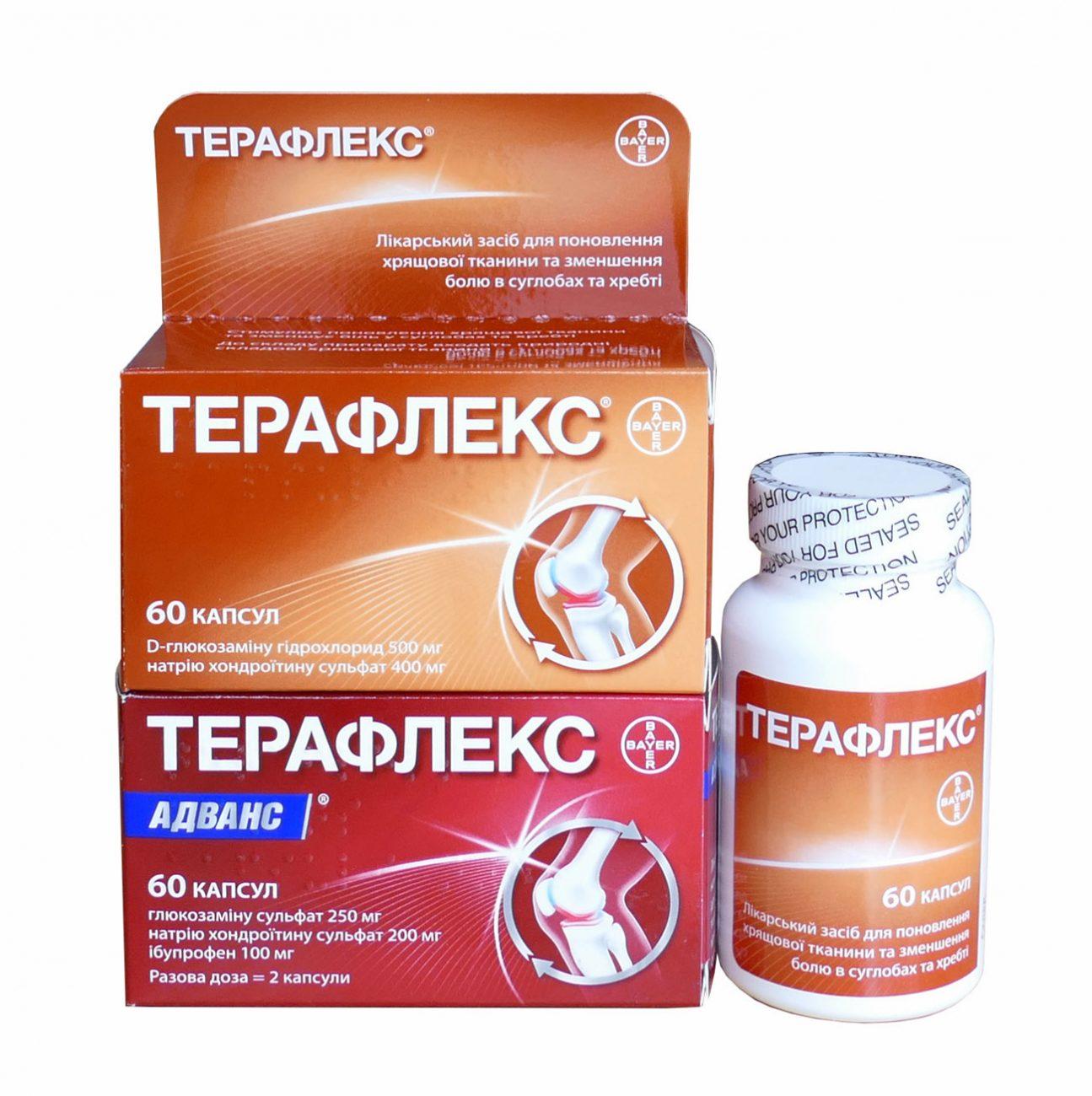 Лекарство от суставной боли терафлекс суставом является соединение